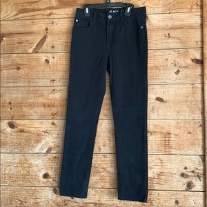 Children's Place skinny black jeans